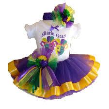 mardi gras baby southern wrag company usa baby mardi gras tutu set