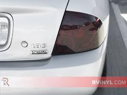 custom nissan sentra 2003 rtint nissan sentra 2000 2006 tail light tint film