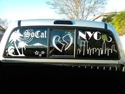 my custom rear window decal you want a custom one too for cheap