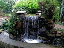 Rock Fountains For Garden Backyard Rock Fountains Custom Backyard Rock Ideas
