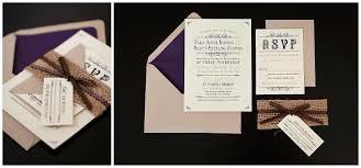 burlap wedding invitations rustic lace wedding invitations marialonghi