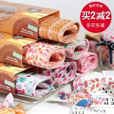 hamburger wrapping paper usd 6 52 sandwich wrapping paper food grade hamburger paper