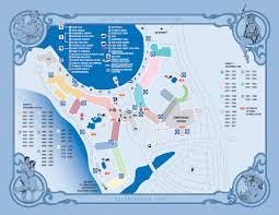 Disney Map Disney U0027s Deluxe Resorts Budget 4 Disney