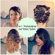 Hochsteckfrisurenen Ohne Locken by Haarfrisuren Für Lange Haare 2 In 1 Hochsteckfrisur Und Wellen