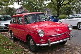 volkswagen squareback custom old parked cars vancouver october 2015