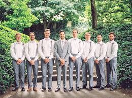 cool groomsmen attire ideas suspenders gray and wedding