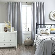 Light Block Curtains Grey And White Bedroom Curtain U2013 Mediawars Co