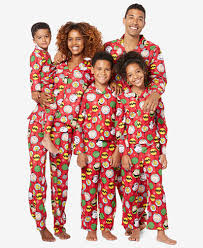 briefly stated peanuts family pajama sets shapewear