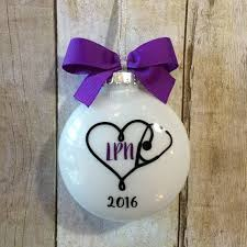 ornament lpn gift nursing graduation by peartreepersonal