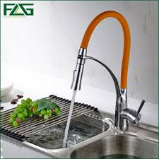Led Kitchen Faucet by Online Get Cheap Orange Kitchen Faucet Aliexpress Com Alibaba Group
