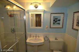 Wall Mount Medicine Cabinets by Traditional Full Bathroom With Wainscoting U0026 Flush In Chevy Chase