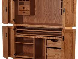 office desk large computer desk cabinets solid wood construction