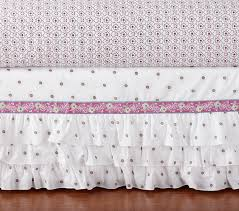 Bed Skirts For Cribs Crib Skirt Pottery Barn