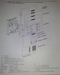 electric machines elgi electric alternator u0026 avr circuit
