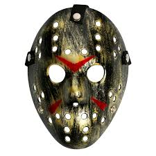 friday the 13th costume prop hockey mask jason horror halloween
