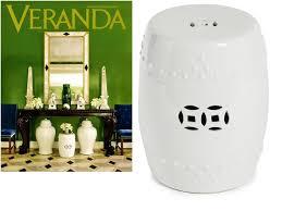white garden stool white ceramic stools white porcelain stool