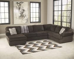 Living Room With Sectional Furniture Amazing Ashley Sectional Reviewsand Jessa Place 3 Piece