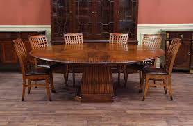 round walnut dining table solid walnut round dining table with self storing leaves expandable