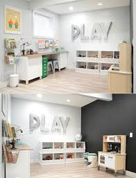 Ideas For Kids Playroom Playroom Chalk Wall Stage The House Of Figs For The Home