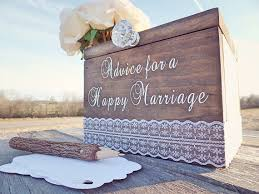 Wedding Card Advice Marriage Advice Box Advice For The Bride Box By Downintheboondocks