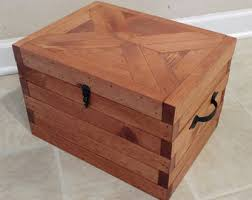 Home Decor Boxes Reclaimed Wood Box Etsy