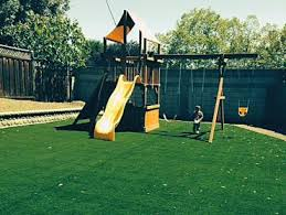 Playground Backyard Ideas Synthetic Grass Elk Grove California Athletic Playground Small