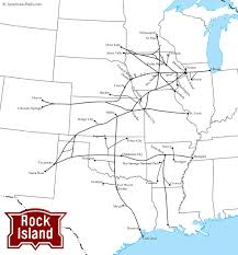 Map Of Leavenworth Wa The Chicago Rock Island And Pacific Railroad