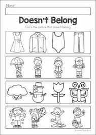 which one doesn u0027t belong free printable worksheets speech