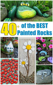 garden rocks ideas over 40 of the best rock painting ideas rock painting wall