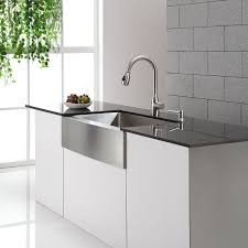 kitchen faucets stainless steel pull out kraus kpf 2130 single lever stainless steel pull out kitchen