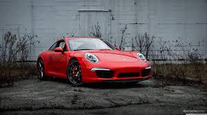 porsche 911 black red 2013 porsche 911 991 carrera s with black wheels brought to
