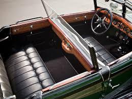 rolls royce vintage interior 1929 rolls royce springfield phantom i convertible sedan hibbard