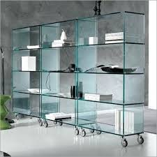 Glass Bookcase With Doors Bookcase Glass Bookshelves Glass Bookshelves With Doors Bina