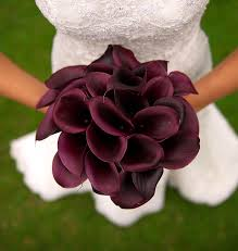 purple calla lilies wedding bouquet ideas mini purple calla diy weddings