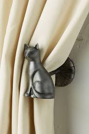 Curtain Tie Backs Anthropologie by Deco Cat Tieback Anthropologie