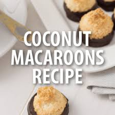 the chew coconut macaroons recipe win a with carla
