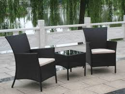 Black Patio Chairs by Wicker Patio Chairs Bright Ideas Black Furniture Astonishing