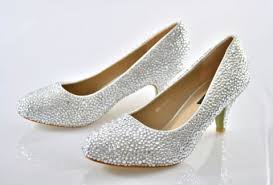 wedding shoes glitter best glitter low heel wedding shoes for brides