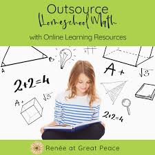 outsource homeschool online math options renée at great peace
