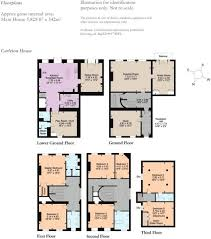 Carleton Floor Plans 6 Bedroom Terraced House For Sale In Maltravers Street Arundel