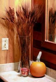 fall decor ideas the middle of here fall bathroom decor