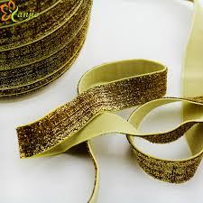 elastic ribbon by the yard 50 yard color 5 8 15mm elastic glitter elastic ribbon for