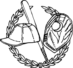 baseball bat coloring pages baseball coloring pages cap bat glove ball coloringstar