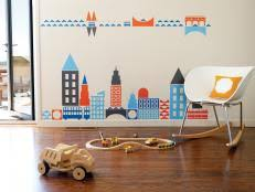 Wall Decal For Kids Room by The Coolest Wall Decals For Kids U0027 Rooms Hgtv