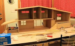 Free Miniature Dollhouse Plans by 7 Steps And 70 Hours For Kate U0027s Diy Dollhouse From Scratch