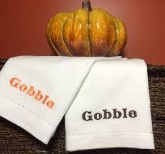 thanksgiving dinner napkins thanksgiving gobble cloth dinner napkins gobble napkins