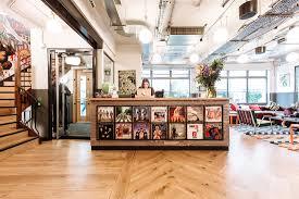 Soho Laminate Flooring A Tour Of Wework Soho Sheraton House Officelovin U0027