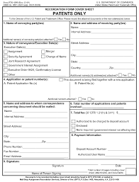 Assignment Form 302 07 Assignment Document Must Be Accompanied By A Cover Sheet R