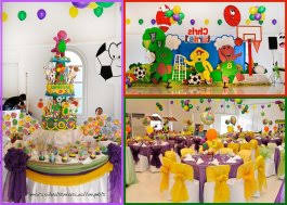 Barney Birthday Party Decorations 1 Barney Party Food Ideas
