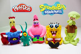 meet spongebob squarepants friends characters easy toy figure